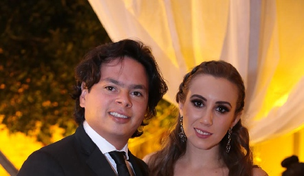 Barra Meade y Paty Dantuñano.