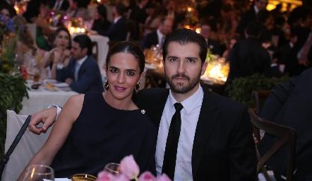 Mariana Vivanco y Jaime Hernández.
