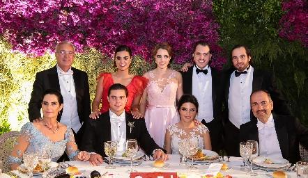 Familia Rosillo y de los Santos.