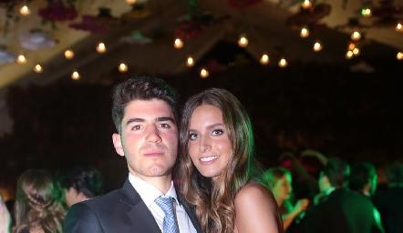 Héctor Mahbub y Ana Victoria de la Rosa.