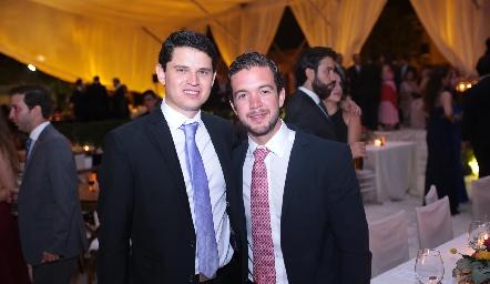 Víctor Paulín y Daniel Granados.