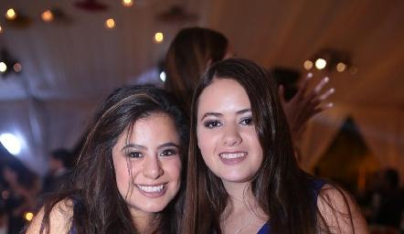 Dany y Marisol.