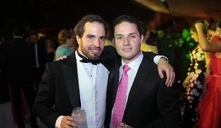 Marcelo de los Santos y Agustín Castillo.