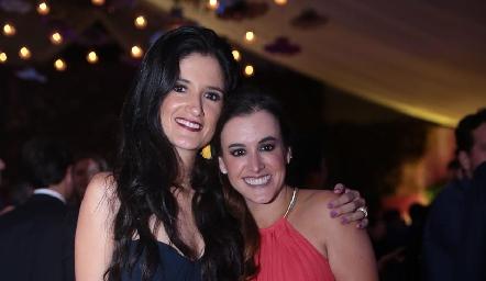 Alejandra Cano y Gloria Escobedo.