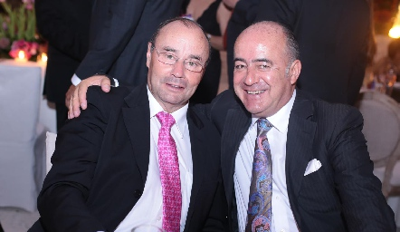 Fernando López y Rafael Olmos.