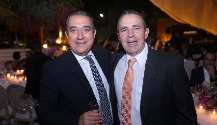 Óscar Villarreal y Gerardo Valle.