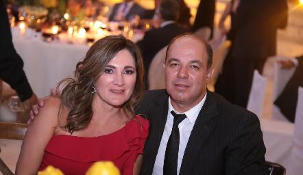 Ana María Anaya y Enrique Quintero.