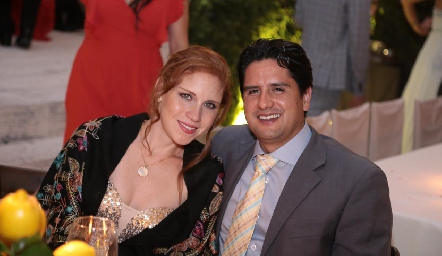 Geraldine Faz y Gerardo Siller.