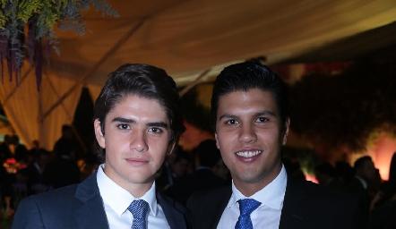 Juan Pablo Leiva y Juan Manuel Piñero.