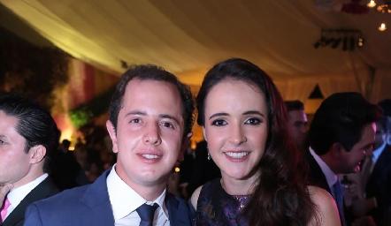 Santiago Aguillón y María Curiel.