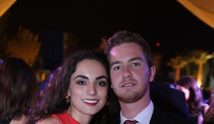 María Bravo y Alejandro Gómez.