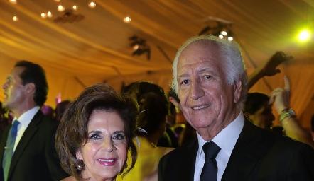 Guillermina Anaya y Marcelo de los Santos Fraga.