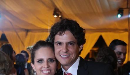 Macarena Gómez y José Cabrera.