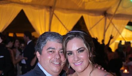 Gerardo Córdova y Gabriela Bárcena.