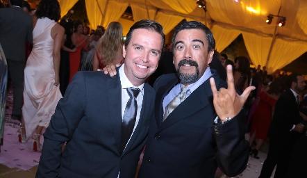 Roberto Mercado y Gerardo Galván.