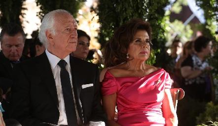 Marcelo y Guillermina de los Santos.
