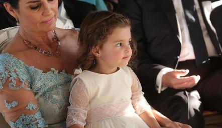 La pequeña Marina.