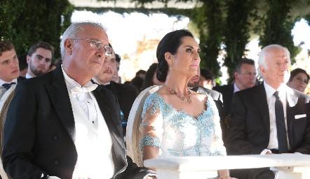 José Manuel Rosillo y Teresa Del Pozo de Rosillo.