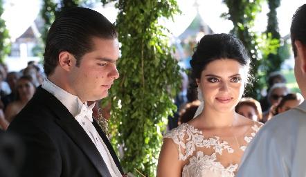 Santiago Rosillo y Daniela de los Santos.