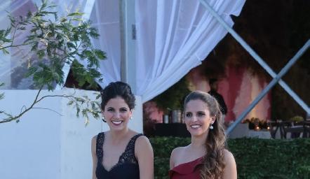 Maribel Rodríguez y Macarena Gómez.