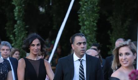 Maricarmen y Alejandro Anaya.