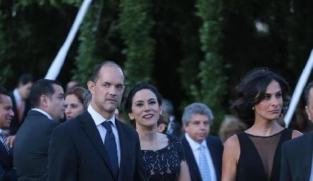 Javier y Susana Noyola.