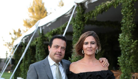 Juan Carlos de la Rosa e Isabel Garfías.