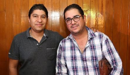 Armando Hernández y Salvador Jasso.