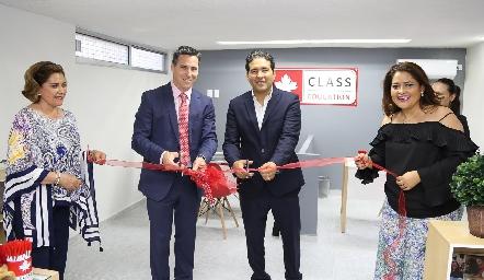 Inauguración de Class Education.