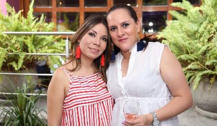 Pamela Acosta y Beatriz Revuelta .
