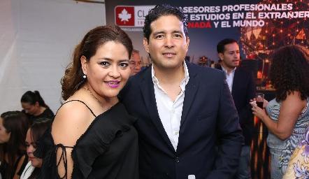 Georgina Alderete y Juan Carlos Alderete.