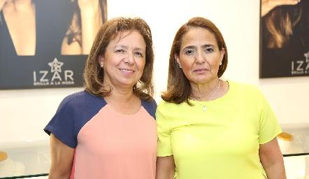 Elizabeth y Norma Rocha.