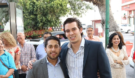 Jorge Rocha y Benjamín Martin Alba.
