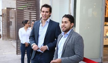 Benjamín Martin Alba y Jorge Rocha.