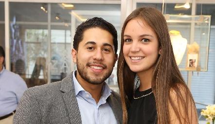 Jorge Rocha y Ana María Reyes .