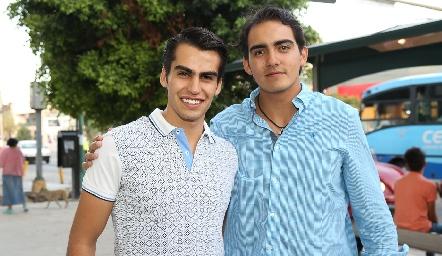 Jorge González y Mauricio Sánchez .