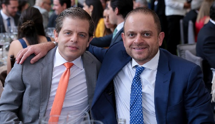 Juan Carlos Feres y Saad Sarquis.