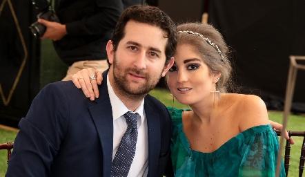 Santiago López y Silvana Zendejas.