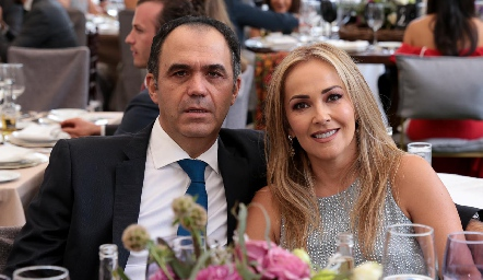 Héctor Mahbub y Claudia del Pozo.
