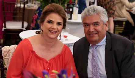 Luz María y Francisco Ruiz.