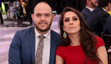 Ricardo Purata y Mónica Hernández.