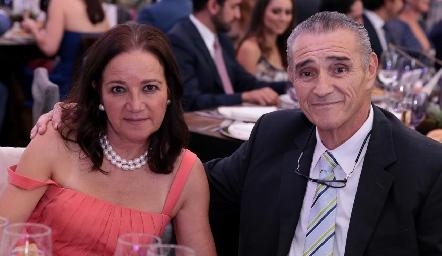 Rosa María Maza y Roberto Mejía.