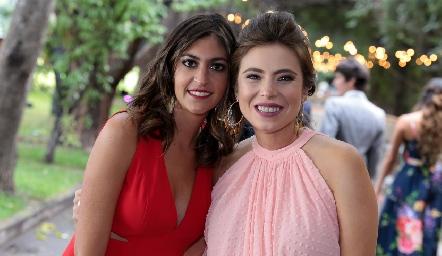 Paty Gómez y Claudia Oliva.