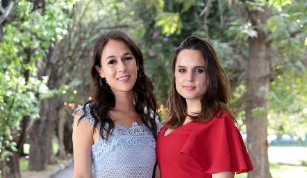 Carmelita Del Valle y Maite Soberón.
