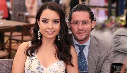 Ana Gaby Díaz Infante y Abraham Salgado.