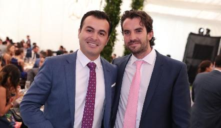 Daniel Villareña y Ricardo Torres.