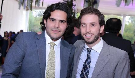 Anuar Zarur y Andrés Torres.