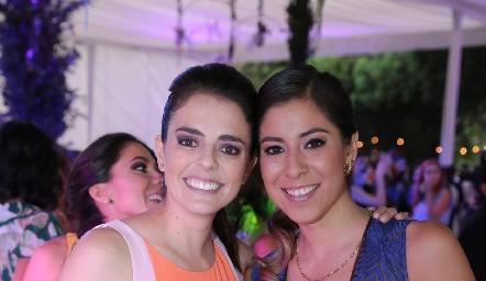 Cristina Andere y Alejandra González.