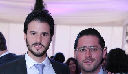 Claudio Meade y Abraham Salgado.