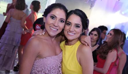 Sofía Díaz de León y Katia Gómez.